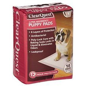 CLEAR-QUEST-PUPPY-PADS-14PK