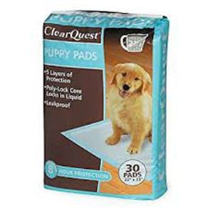CLEAR-QUEST-PUPPY-PADS-30PK