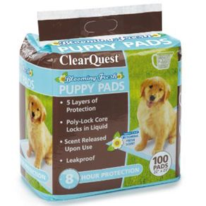 CLEAR-QUEST-PUPPY-PADS-100PK
