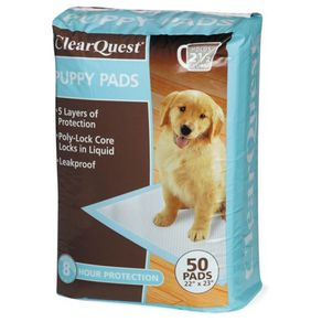 CLEAR-QUEST-PUPPY-PADS-50PK