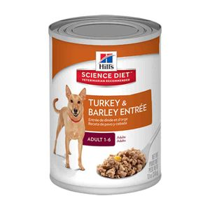 Hills-Canine-Adult-Turkey---Barley-370-gr