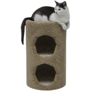 Poste-Con-Dos-Condominios-Para-Gatos-Beatrise-