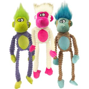 Pet-Sport-Tuff-Squeaks-Jungles-Monkey-Plush