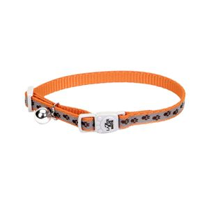 Coastal-Collar-Para-Gato-Reflectivo-Naranja-Huellas-12-