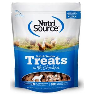 Nutrisource-Soft---Tender-Chicken-Dog-Treats-170Gr