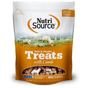 Nutrisource-Soft---Tender-Lamb-Dog-Treats-170Gr