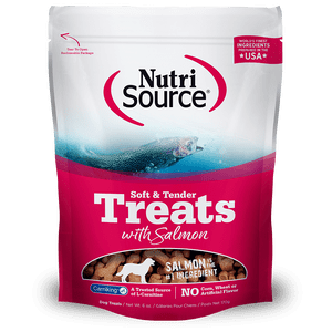 Nutrisource-Soft---Tender-Salmon-Dog-Treats-170Gr