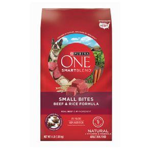 Comida-Seca-Perro-Purina-One-Smartblend-Small-Bites-Beef-Rice-4-Lb